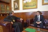 Председатель ОВЦС встретился с послом Австрии в России