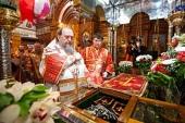 Глава Казахстанского митрополичьего округа возглавил торжества, посвященные памяти преподобного Севастиана Карагандинского