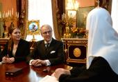 Святейший Патриарх Кирилл принял посла Германии в России