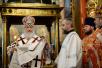 Патриаршее служение в день Радоницы в Архангельском соборе Московского Кремля. Пасхальное поминовение усопших