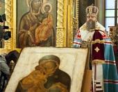В Москве освящен точный список Донской иконы Божией Матери