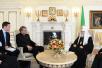 Встреча Святейшего Патриарха Кирилла с генеральным секретарем Всемирного совета церквей Олафом Фюксе Твейтом