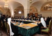 Пятое заседание Попечительского совета Фонда поддержки строительства храмов города Москвы