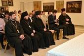 Председатель Синодального информационного отдела встретился с сотрудниками информподразделений Белгородской митрополии