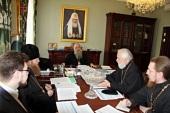 Состоялось заседание комиссии по распределению выпускников центральных учебных заведений Русской Православной Церкви