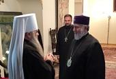 Делегация Русской Православной Церкви приняла участие в церемонии поминовения жертв геноцида армянского народа