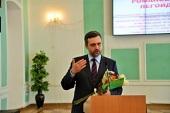 Председатель Синодального информационного отдела встретился со студентами Белгородского государственного университета