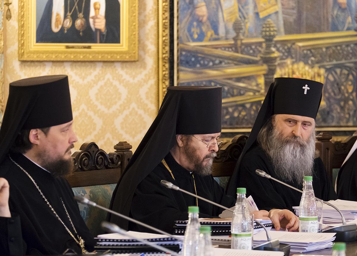 Заседание Высшего Церковного Совета 29 апреля 2015 года