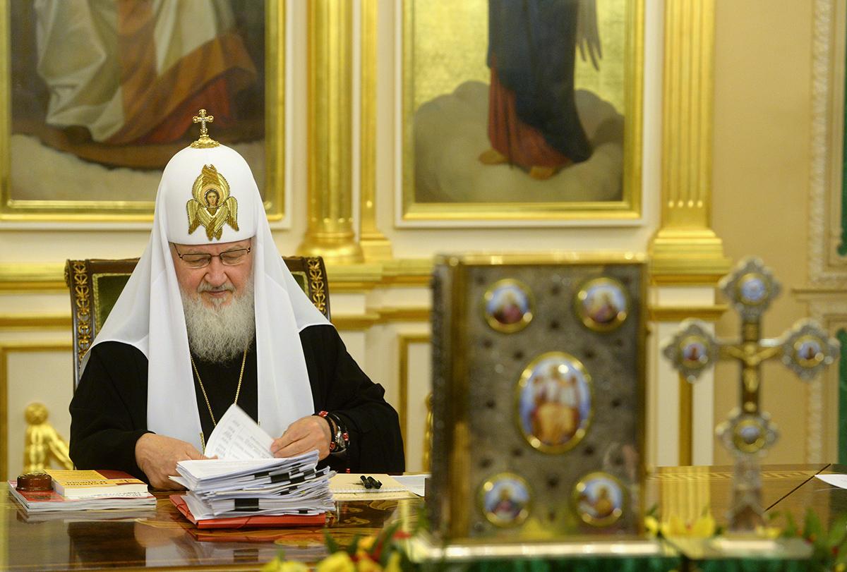 Заседание Священного Синода 5 мая 2015 года