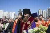 В Москве заложен храм в память о военных журналистах