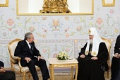 Состоялась встреча Святейшего Патриарха Кирилла с Председателем Государственного Совета и Совета министров Республики Куба Раулем Кастро Рус