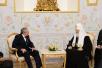 Встреча Святейшего Патриарха Кирилла с Председателем Государственного Совета и Совета министров Республики Куба Раулем Кастро Рус