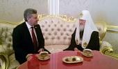 Предстоятель Русской Православной Церкви встретился с Президентом Республики Македонии Г. Ивановым