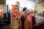Иеромонах Пармен (Щипелев), избранный во епископа Чистопольского, и игумен Всеволод (Понич), избранный во епископа Славгородского, возведены в сан архимандрита