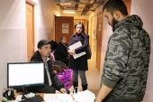 За последние две недели в штаб церковной помощи беженцам с Украины обратились 460 человек