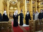 Святейший Патриарх Кирилл посетил Никольский собор в Серпухове