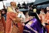 Слово Святейшего Патриарха Кирилла при вручении архиерейского жезла Преосвященному Пармену (Щипелеву), епископу Чистопольскому и Нижнекамскому