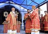 Проповедь Святейшего Патриарха Кирилла после Литургии в Высоцком монастыре г. Серпухова