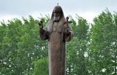 На территории музея-заповедника «Прохоровское поле» открыт памятник Патриарху Алексию II