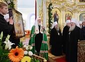 Проповедь Святейшего Патриарха Кирилла после всенощного бдения в Воскресенско-Германовском соборе г. Ульяновска