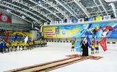 Святейший Патриарх Кирилл встретился с участниками молодежного турнира по хоккею с мячом в Ульяновске