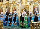 Проповедь Святейшего Патриарха Кирилла в праздник Вознесения Господня в Вознесенском соборе г. Ульяновска