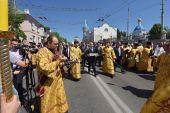 Десница Георгия Победоносца принесена в Белгородскую митрополию
