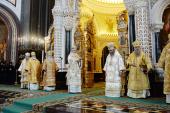 Проповедь Святейшего Патриарха Кирилла в день памяти святых равноапостольных Мефодия и Кирилла в Храме Христа Спасителя в Москве