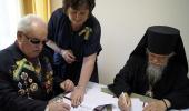 Синодальный отдел по церковной благотворительности заключил договор о сотрудничестве с Всероссийским обществом слепых