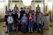 Председатель Синодального отдела по благотворительности встретился с воспитанниками Первомайского детского дома-интерната