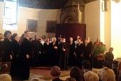 В Эчмиадзине состоялся концерт Московского синодального хора
