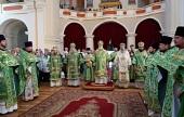 Патриарший экзарх всея Беларуси возглавил торжества в Полоцке по случаю дня памяти преподобной Евфросинии Полоцкой