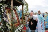 В Ярославской митрополии отпраздновали 400-летие обретения Югской иконы Божией Матери и основания Югской Дорофеевой пустыни