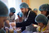 В Санкт-Петербурге открылся цех фасовки «Народных обедов»