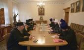 Председатель ОВЦС встретился с членами комиссии Священного Кинота Святой Горы Афон