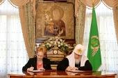 Подписано Соглашение о сотрудничестве между Русской Православной Церковью и Министерством здравоохранения Российской Федерации