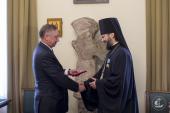 Ректор Санкт-Петербургских духовных школ удостоен государственного ордена Дружбы