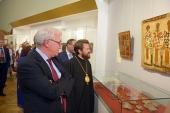 В Государственном историческом музее открылась выставка, посвященная равноапостольному князю Владимиру