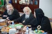 Состоялось заседание межведомственной рабочей группы по вопросам пастырского служения в храмах при светских учреждениях