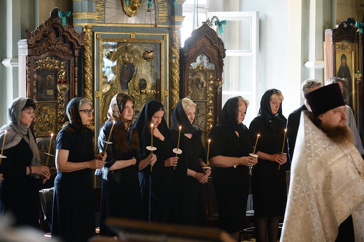 Отпевание Е.М. Примакова