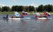 Из Великого Новгорода в Кронштадт проходит водный крестный ход, посвященный 1000-летию преставления святого князя Владимира