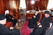Митрополит Волоколамский Иларион встретился со Святейшим Патриархом Константинопольским Варфоломеем