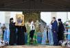 Патриарший визит в Санкт-Петербургскую митрополию. Литургия в Тихвинском монастыре. Хиротония архимандрита Всеволода (Понича) во епископа Славгородского и Каменского