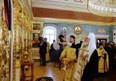Святейший Патриарх Кирилл освятил Успенский храм в Валаамском монастыре