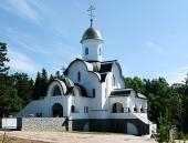Святейший Патриарх Кирилл освятил Александро-Невский храм во Владимирском скиту на Валааме