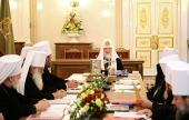 В Санкт-Петербурге открылось очередное заседание Священного Синода Русской Православной Церкви