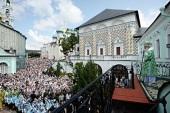 Проповедь Святейшего Патриарха Кирилла в день памяти прп. Сергия Радонежского в Троице-Сергиевой лавре