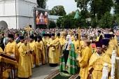 Предстоятель Русской Церкви освятил восстановленный храм Рождества Пресвятой Богородицы в Ипатьевском монастыре
