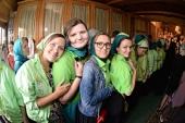 Торжества в дни памяти преподобного Сергия Радонежского в Троице-Сергиевой лавре объединили верующую молодежь из одиннадцати стран