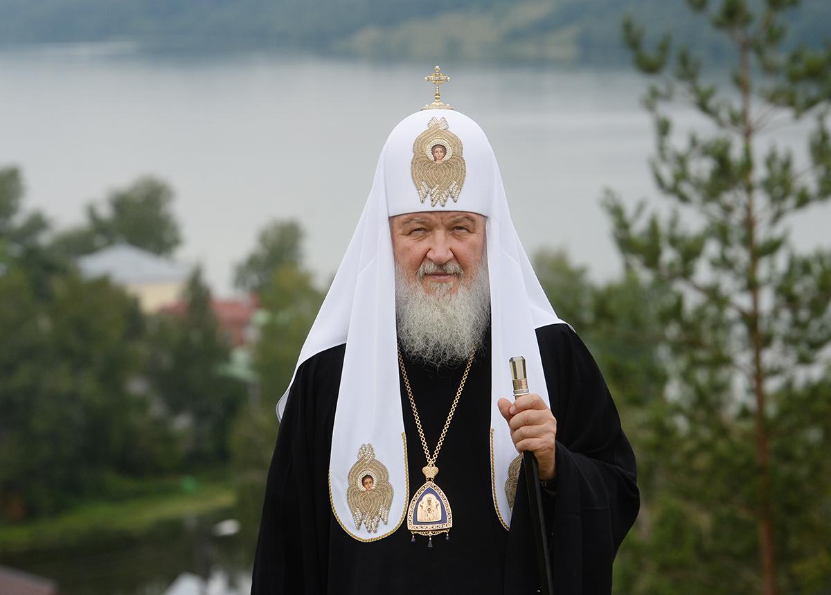 Патриарший визит в Ивановскую митрополию. Посещение Воскресенского храма на горе Левитана в г. Плёс
